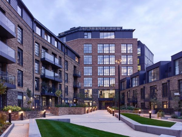 stunning new building created in the warehouse style of architecture that is typical of the area in SE1