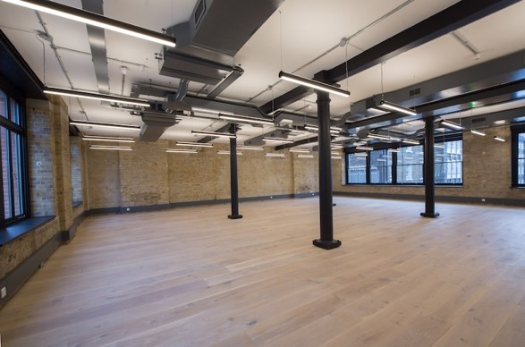 open work space with brick walls and good lighting near Borough Market