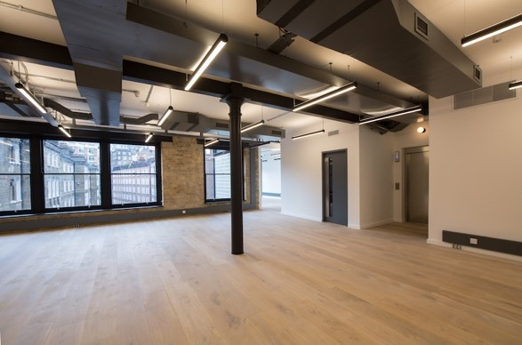 wood flooring self contained offices near Tate Modern in Southwark
